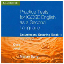 Practise Tests for IGCSE English 2nd Language Listening and Speaking Core Level Book 1 Audio CD's - ISBN 9780521140584