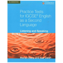 Practice Tests for IGCSE English 2nd Language Listening & Speaking Book 2 - ISBN 9780521186360