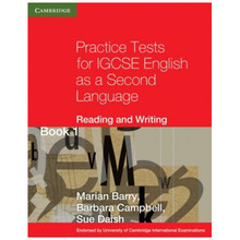 Practice Tests for IGCSE English as a Second Language Reading and Writing Book 1 - ISBN 9780521140591