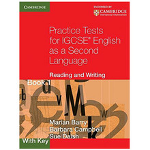 Practice Tests for IGCSE English as a Second Language Reading and Writing Book 1 with Key - ISBN 9780521140614