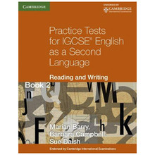 Practice Tests for IGCSE English as a Second Language Reading and Writing Book 2 - ISBN 9780521140645
