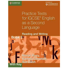 Practice Tests for IGCSE English 2nd Language Reading & Writing Book 2 with Key - ISBN 9780521140652
