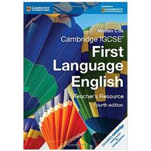 Cambridge IGCSE First Language English Teacher Resource Book (4th Edition) - ISBN 9781107651944