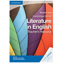 Cambridge IGCSE Literature in English Teacher's Resource CD-ROM - ISBN 9781107637054