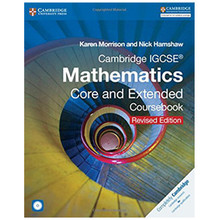 Cambridge IGCSE Mathematics Core and Extended Coursebook with CD-ROM (Revised Edition) - ISBN 9781316605639