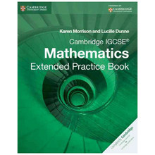 Cambridge IGCSE Mathematics Extended Practice Book - ISBN 9781107672727