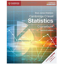 Cambridge O Level Statistics Coursebook (2nd Edition) - ISBN 9781107577039