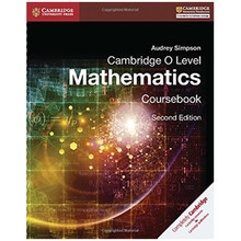 Cambridge O Level Mathematics Coursebook - ISBN 9781316506448