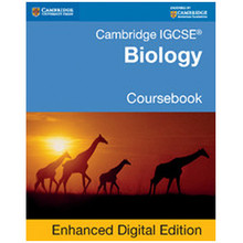 Cambridge IGCSE Biology Coursebook Enhanced Digital Edition - ISBN 9781107503014