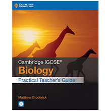 Cambridge IGCSE Biology Practical Teacher Guide with CD-ROM - ISBN 9781316611050