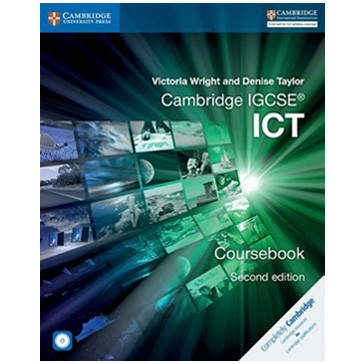 Cambridge IGCSE ICT Coursebook with CD-ROM (2nd Edition) - ISBN 9781316500743