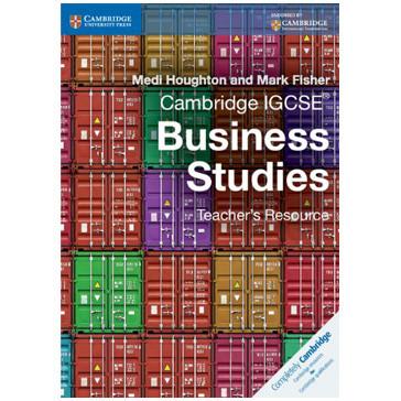 Cambridge IGCSE Business Studies Teacher's Resource CD-ROM - ISBN 9781107425354