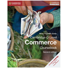 Cambridge O Level Commerce Coursebook (2nd Edition) - ISBN 9781107579095