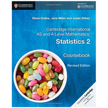 Cambridge International Advanced Level Mathematics Statistics Coursebook 2 - ISBN 9781316600429