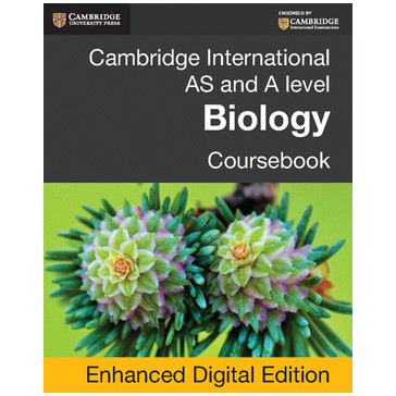 AS and A Level Biology Cambridge Coursebook Elevate Enhanced Edition - ISBN 9781107700451
