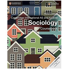 Cambridge International AS and A Level Sociology Coursebook - ISBN 9781107673397