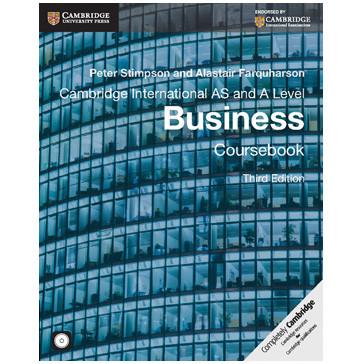 Cambridge AS and A Level Business Coursebook with CD-ROM (3rd Edition) - ISBN 9781107677364