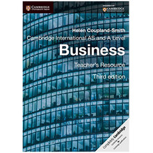 Cambridge AS and A Level Business Teacher's Resource + CD-ROM (3rd Edition) - ISBN 9781107642614