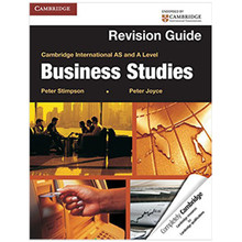 Cambridge International AS & A Level Business Studies Revision Guide - ISBN 9781107604773