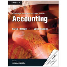 Cambridge International AS and A Level Accounting Coursebook - ISBN 9781107690622