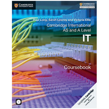 Cambridge International AS and A Level IT Coursebook with CD-ROM - ISBN 9781107577244