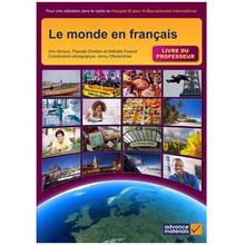Le monde en francais livre du professeur - ISBN 9780956543127