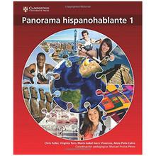 Panorama Hispanohablante 1 Libro del Alumno - ISBN 9781107572799