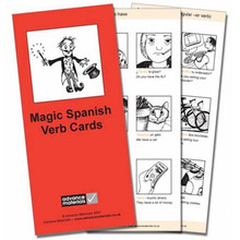 Cambridge International Magic Spanish Verb Cards Flashcards - ISBN 9780954769550