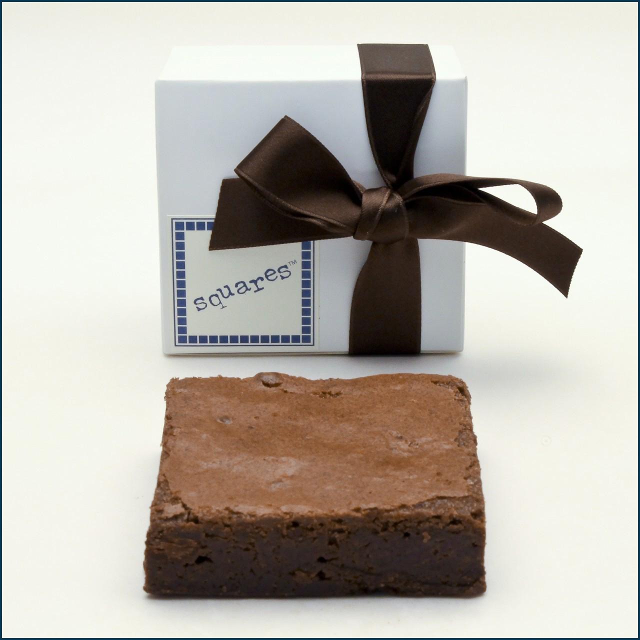 1 piece square favor box