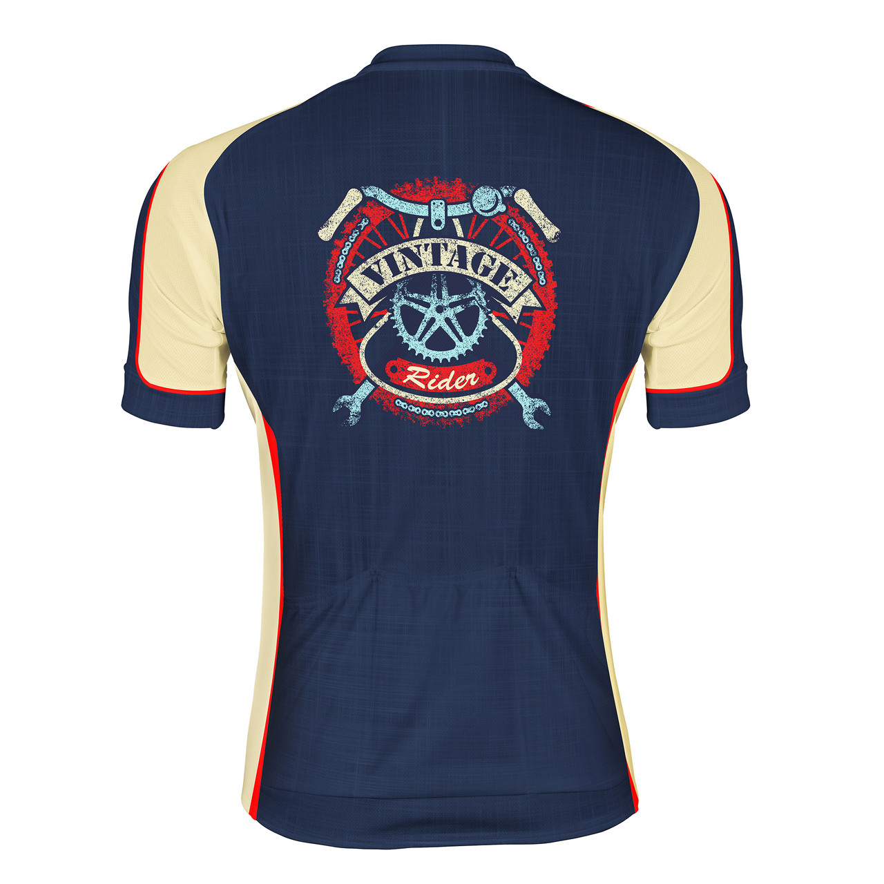 Men s Cycling Jersey Vintage Rider Peak 1 Sports 6cebb6768