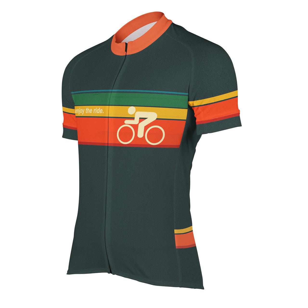 Men s Cycling Jersey Enjoy the Ride Peak 1 Sports 05defccaa