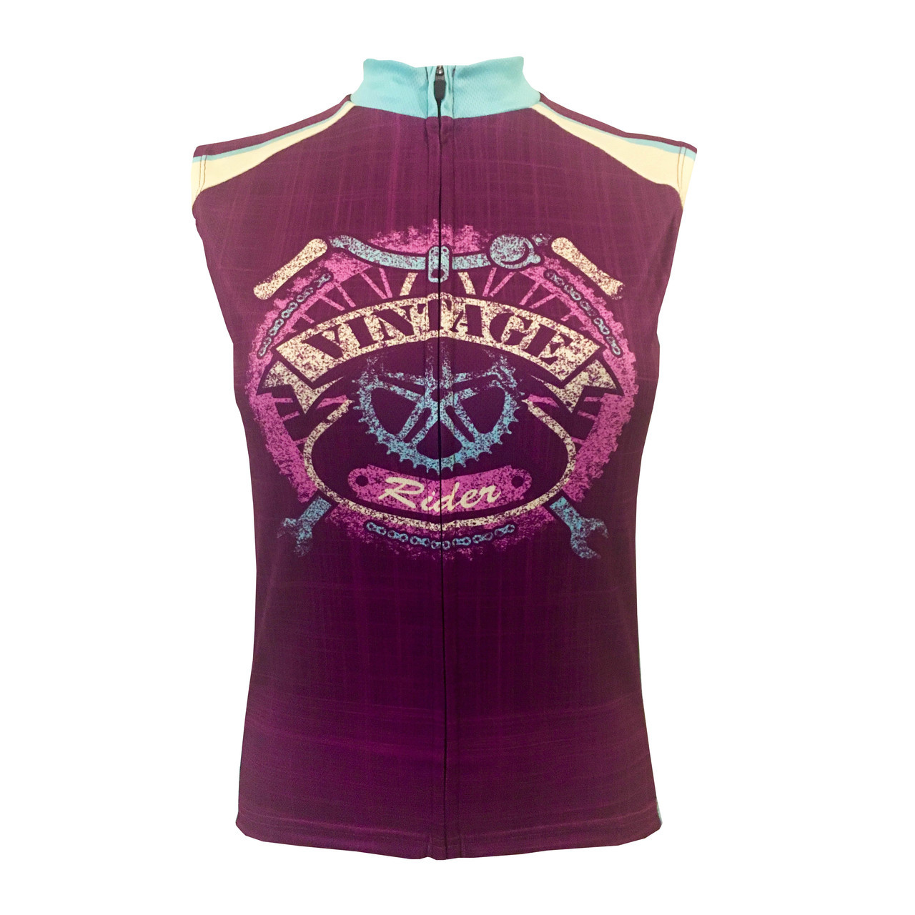 a3c1053cd0df1 VINTAGE RIDER WOMEN S SLEEVELESS CYCLING JERSEY. Your Price   39.99 (You  save  20.00). Image 1. Larger   More Photos