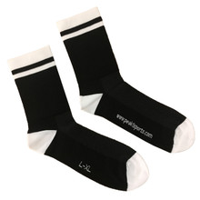 Pro Series Cycling Socks -- Black & White