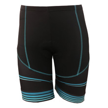 CYNERGY TURQUOISE -- WOMEN'S CYCLING SHORTS