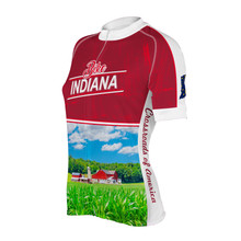 INDIANA WOMEN'S SHORT SLEEVE CYCLING JERSEY