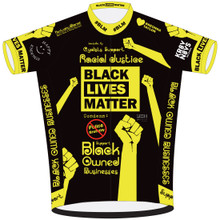 LOUISVILLE KY CYCLISTS SUPPORT RACIAL JUSTICE CYCLING JERSEY