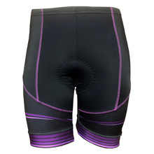 CYNERGY PURPLE -- WOMEN'S CYCLING SHORTS