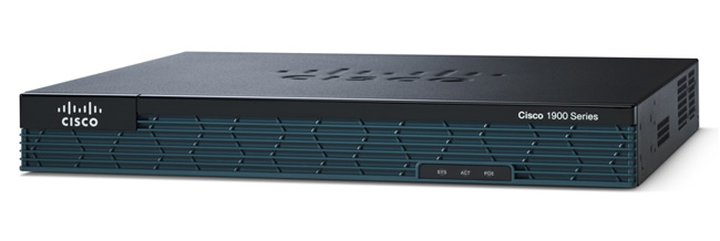 cisco 1900 router