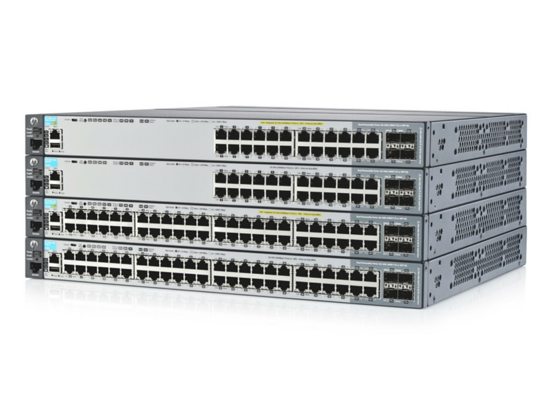 HP 2920 switch