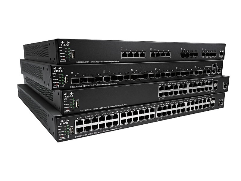 cisco 550x switch