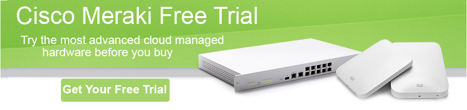 meraki access point free trial
