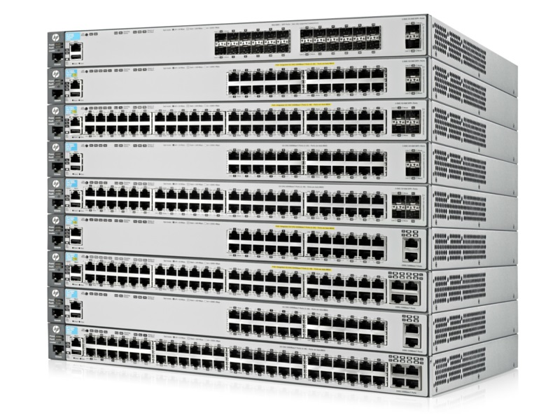 HP 3800 switch