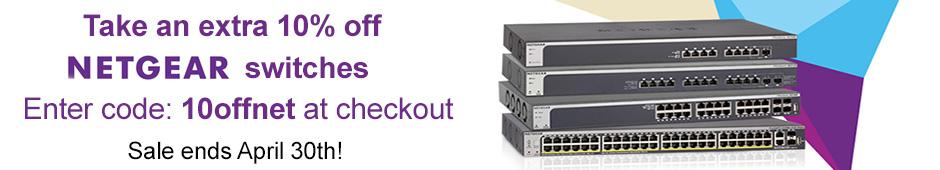 netgear switch sale