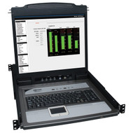 "Tripp Lite B020-U16-19-K KVM Switch 16 Port Console With 19"" LCD & 8 PS2/USB Cables at Hummingbird"