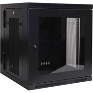 Tripp Lite SRW12USG 12U Wall Mount Rack Enclosure Cabinet Wallmount Plexiglass Door at Hummingbird
