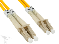 LC to LC Multimode Duplex 50/125 Fiber Patch Cable, 10M at Hummingbird Networks