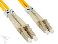 LC to LC Multimode Duplex 50/125 Fiber Patch Cable, 15M at Hummingbird Networks