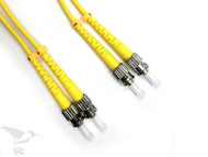 SC to ST Singlemode Duplex 9/125 Fiber Patch Cables, 5M at Hummingbird Networks