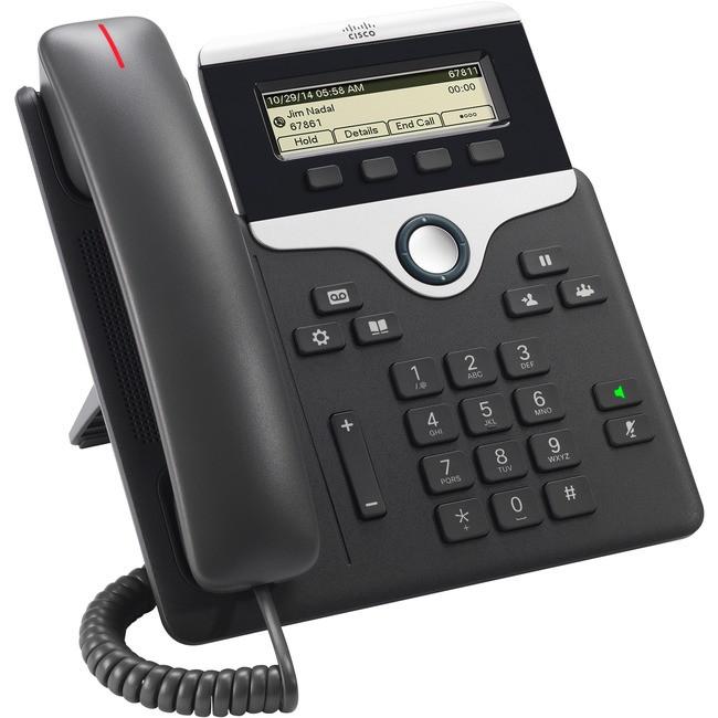 CP-7811-K9= Cisco 7811 IP Phone 1 Line Grayscale Display