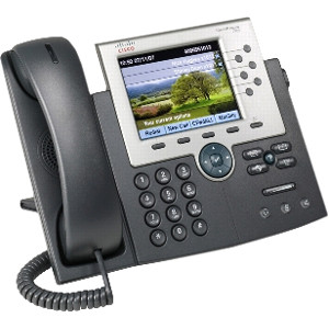 CP-7965G Refurbished Cisco Phone, GigE, Color, 6 Button Cisco Refresh